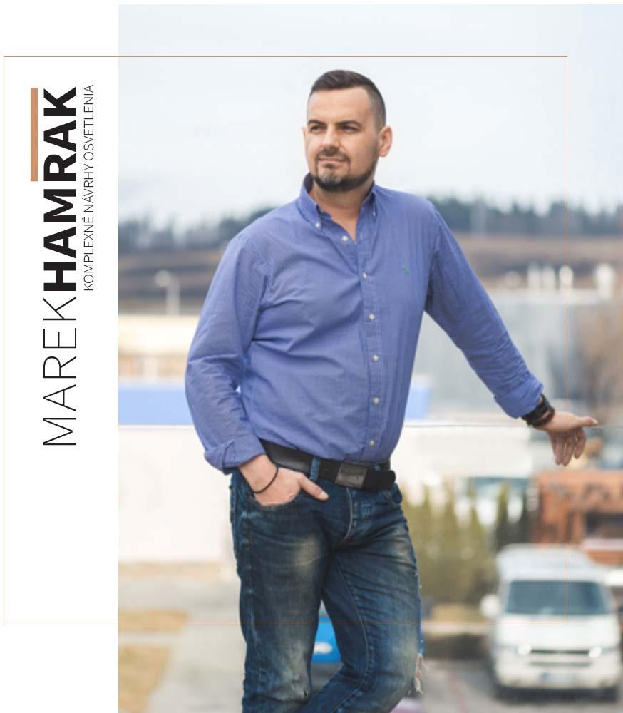 Návrhy osvetlenia- Marek Hamrák